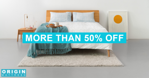 origin mattress sale cover image