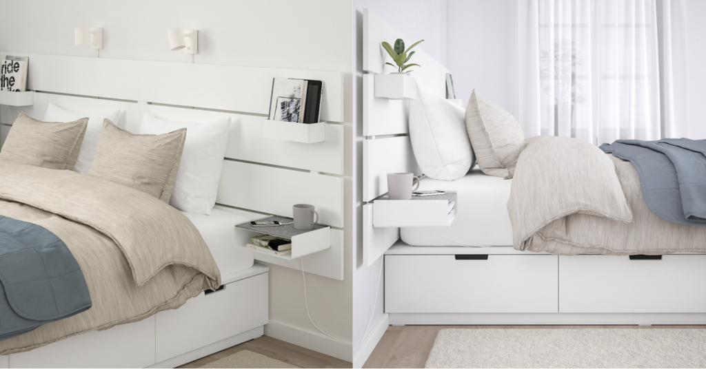 IKEA's NORDLI bed frame