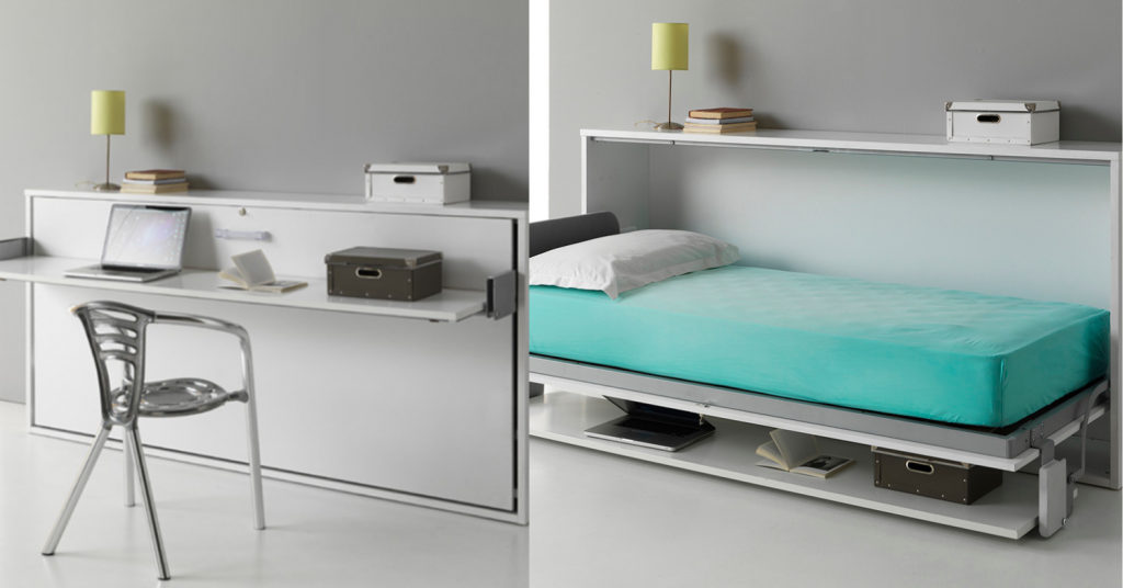 Ewins's Roomier Finch Bed to Desk