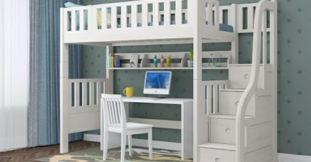Modular Single or Super Single Loft Bed