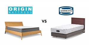 simmons mattress and origin mattress